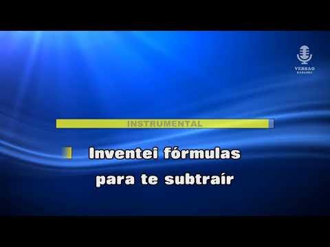 ♫ Demo-Karaoke MATEMÁTICA DO AMOR - Matias Damásio