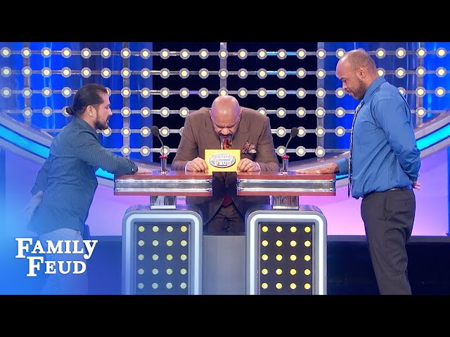 WOW! The Opals win the car! | Family Feud