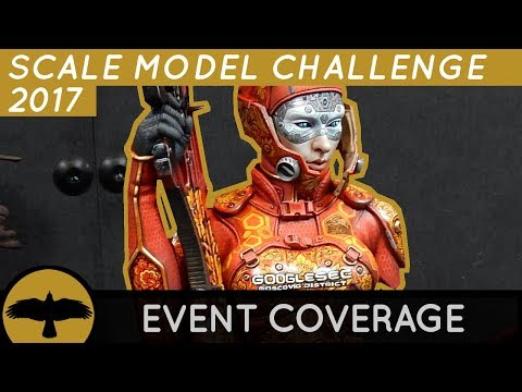 Scale Model Challenge 2017 event coverage