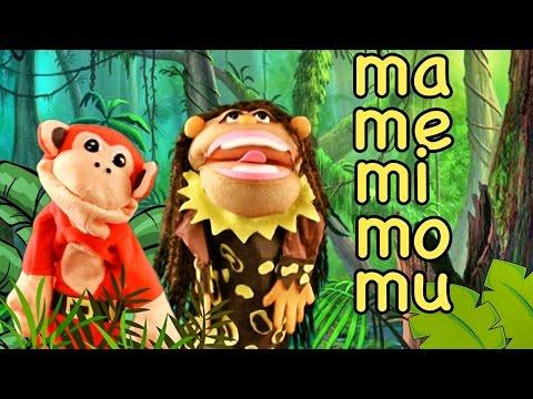 Canciones Infantiles - ma me mi mo mu - El Mono Sílabo #