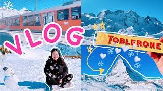 디즈니 겨울왕국 실사판 스위스 여행 브이로그(토블론 초…