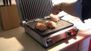 Курица с ананасами на гриле BORK G801