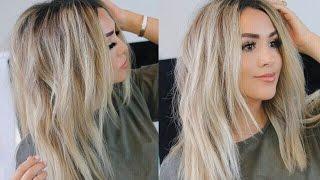 i woke up like this hair tutorial messy loose curls   alexandrea garza