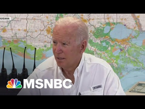 Biden in Louisiana To Survey Hurricane Ida Damage