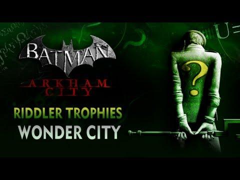 Batman: Arkham City Riddler Trophies Wonder City