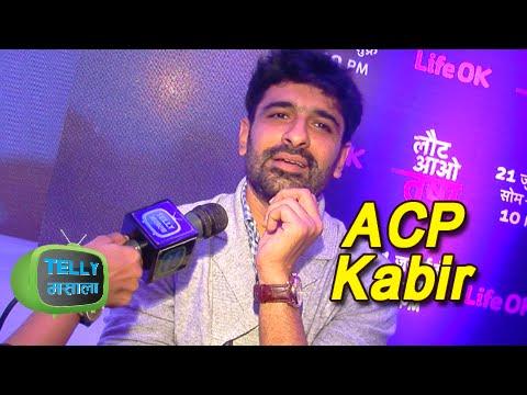 Eijaz Khan As ACP Kabir In LAUT AAO TRISHA - LIFE OK Show