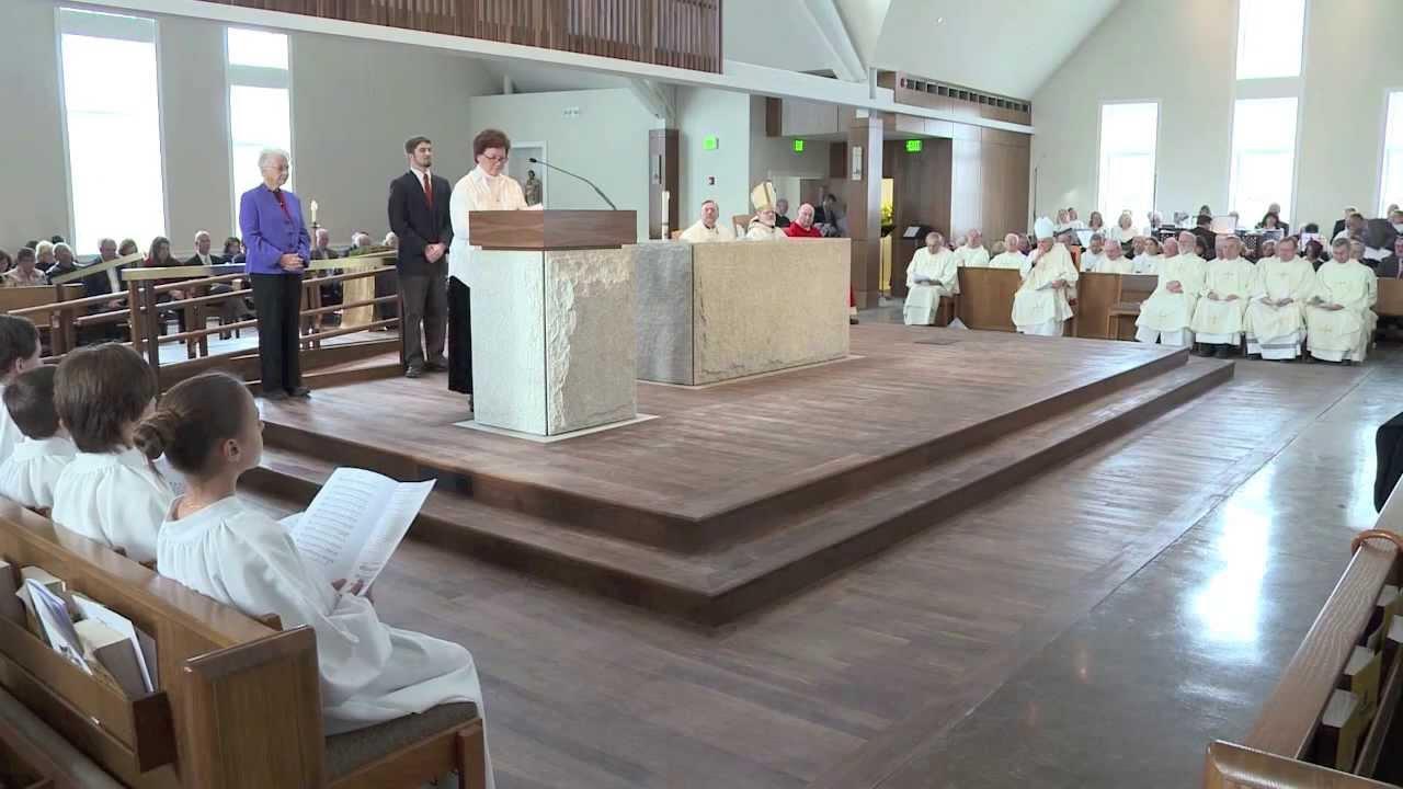 St Bonaventure Church Dedication Jan 26 2014 Youtube