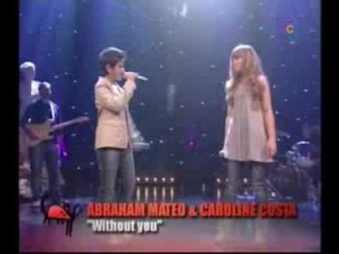 Nose Vivir Si No Es Contigo - Abraham y Caroline  / VIDEO OFICIAL ✔️