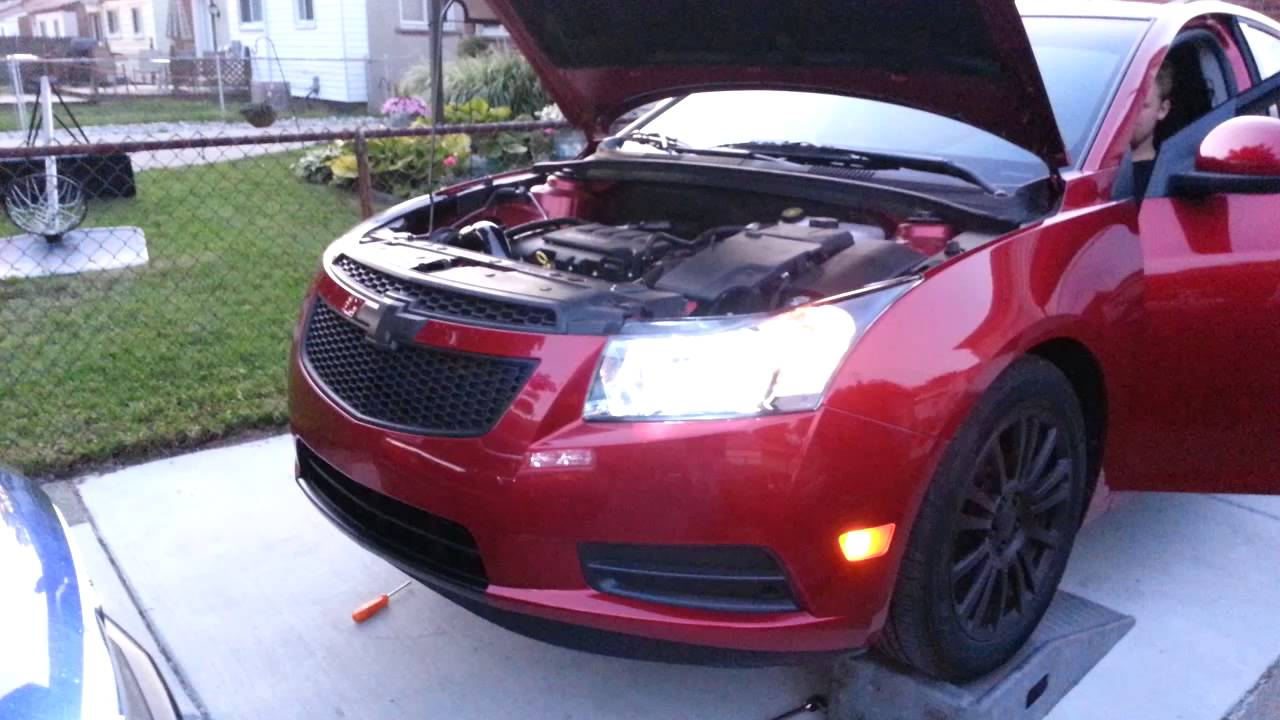 Cruze chevy cruze 1.4 turbo performance upgrades : Cruze 1.4L turbo forge bov, open cut out, Trifecta tune - YouTube