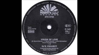 "DJ's Project  ‎– Vision Of Love (12"" Maxi) 1987"