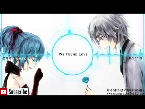 Nightcore  We Found Love feat Rihanna  Calvin Harris
