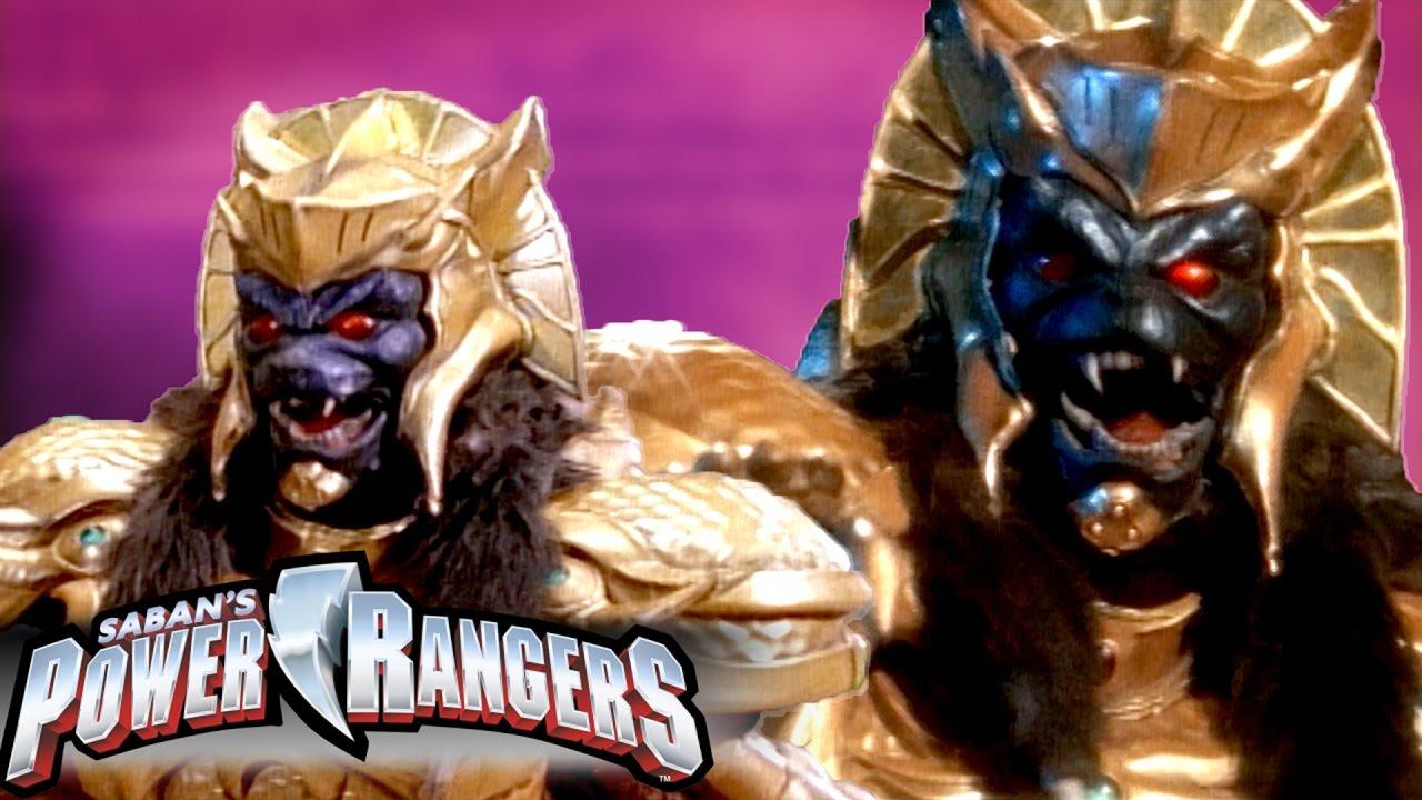 Power Rangers | Goldar versus the Power Rangers - YouTube