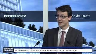 La réponse du législateur face à l'inefficacité de la sanction pénale, avec Caroline Joly, BARO ALTO