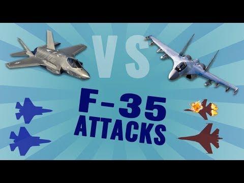 F-35 vs Su-35: Part 2/2