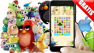 Saiu Angry Birds Match Android/ios/iphone Gameplay+Download Free/Gratis