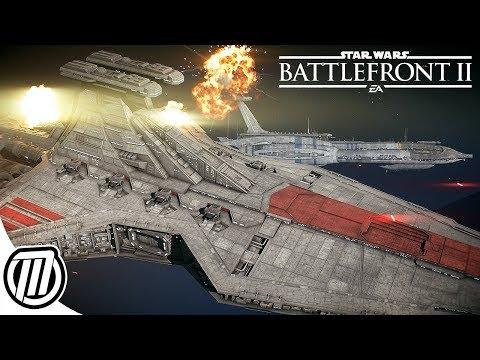Star Wars Battlefront 2 BIGGEST BATTLES | Multiplayer Gameplay LIVE STREAM