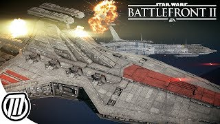 Star Wars Battlefront 2 BIGGEST BATTLES | Multiplayer Gameplay LIVE STREAM