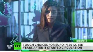 Euro Doom: 10-year-old currency race against time