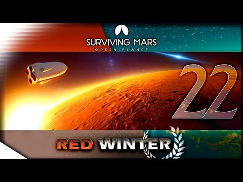 The Automated Rocket - Cernan Update Gameplay | SURVIVING MARS: Green Planet — Red Winter 22