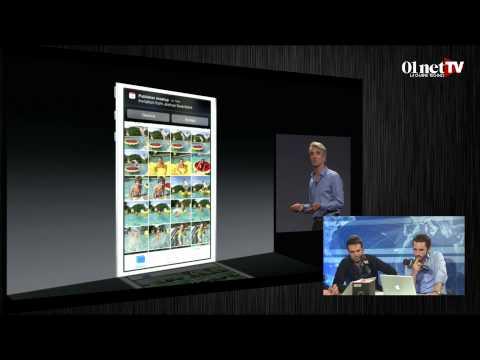 """Apple : les nouveautés d'iOS 8 et de Mac OS X """"Yosemite"""""""