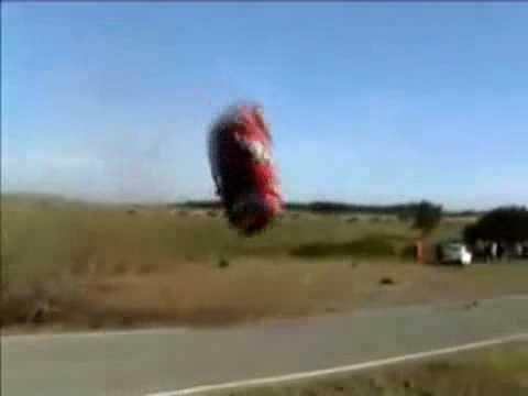 Worst car crash in the world