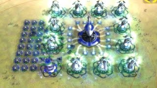 T3 Stationary Arty - FAF How To 1 - Supreme Commander Forged Alliance