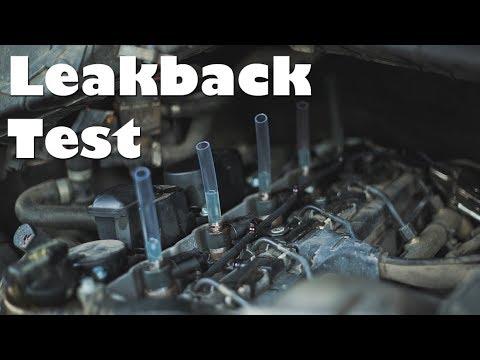 2006 Dodge (Mercedes) T1N Sprinter Van Diesel Fuel Injector Leak Back Test  How To