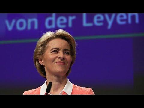 Ursula von der Leyen desvela el reparto de carteras en el seno de la Comsión Europea