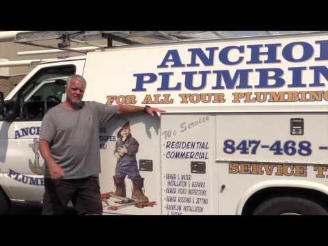 Sewer video inspection, drain repair, new installations, Anchor Plumbing