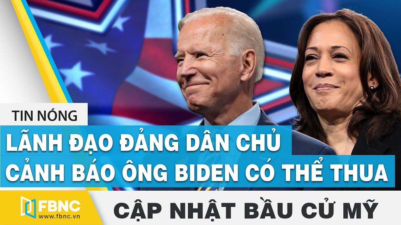 Bầu cử Mỹ 2020 (20/10) | Lãnh đạo đảng dân chủ cảnh báo ông Biden có thể thua | FBNC