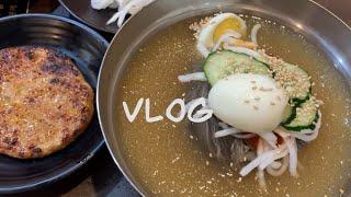 [Vlog] 먹기만한 …