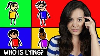 Can You Guess Who's Lying? 3 Logic Riddles to Train Your Problem Solving Skills