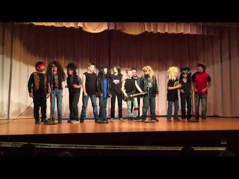 4th Grade Talent Show, We Love Bon Jovi! - Burr School, Higganum, CT