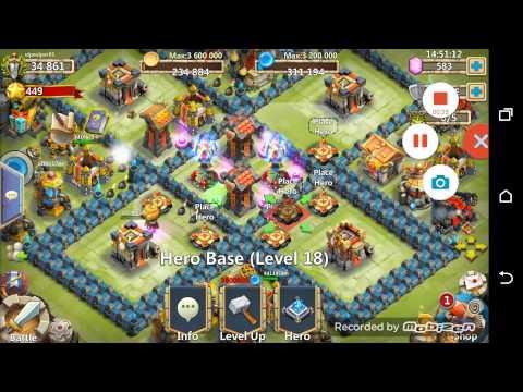 Castle Clash Exp Trick