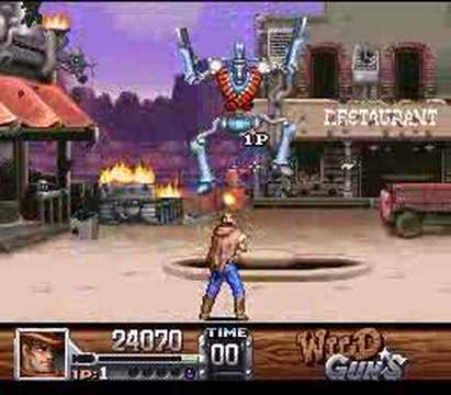 SNES Wild Guns - Clint - YouTube