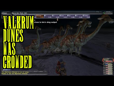 FFXI - Project Excalibur: So Valkrum was crowded... - 9/9/2016