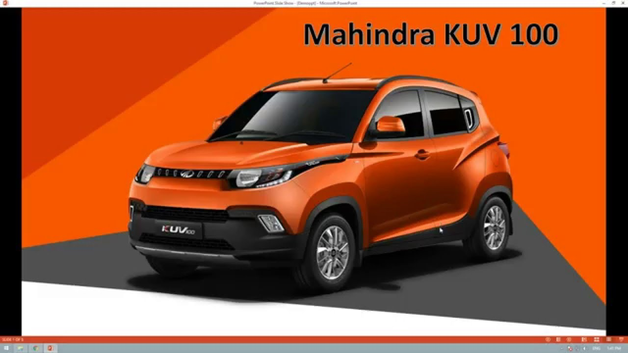 New Mahindra Kuv Young Suv Full Review Youtube