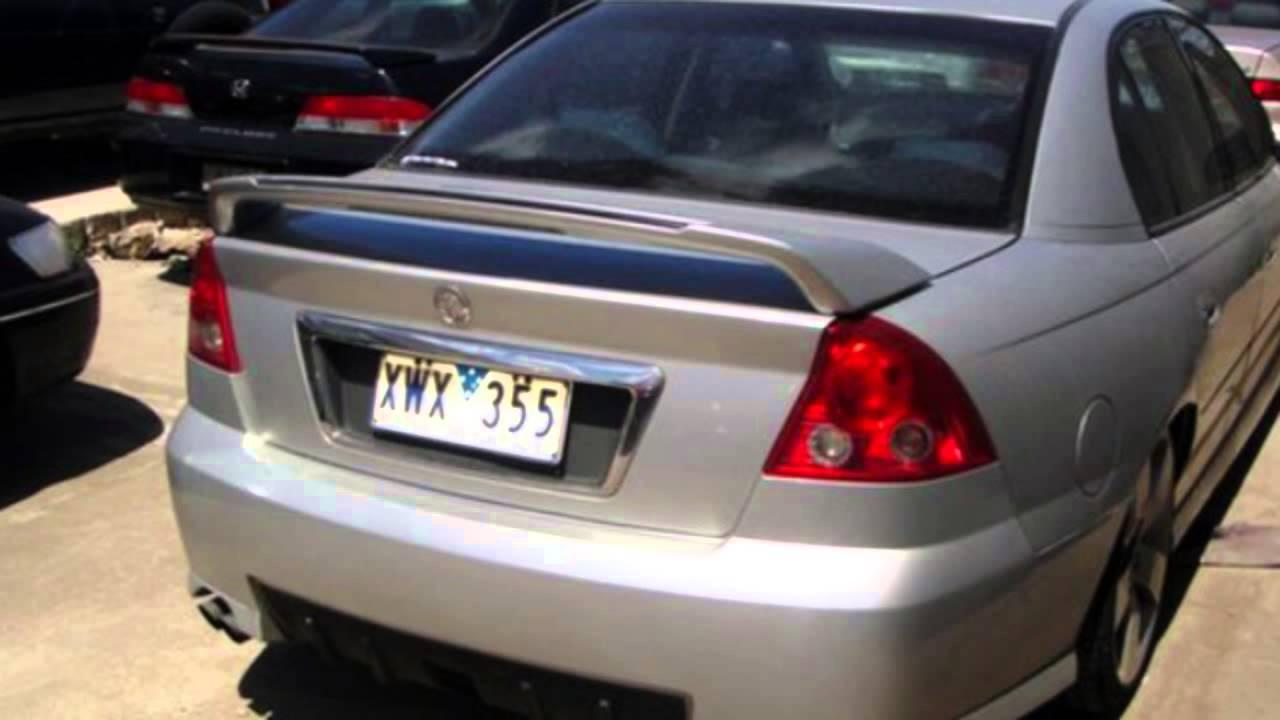 2004 Holden Commodore VZ SV6 Silver 5 Speed Sports Automatic Sedan