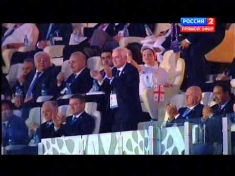 Азербайджан.Баку.Первые Европейские игры церемония открытия.