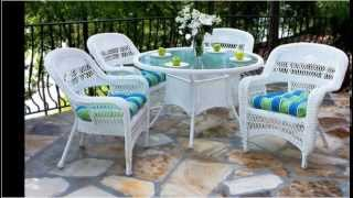 #white Wicker Outdoor Furniture 2015()