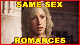 Assassin's Creed Odyssey: Same Sex Romance Scenes (Gay Alexios)