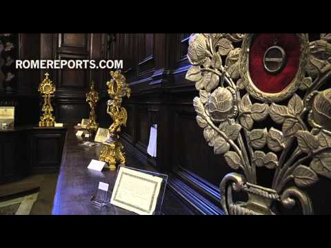 Saintly relics and remains within primitive Rome parish restored