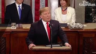 State of the Union: Trump attacks Mueller and Democrats in divisive speech
