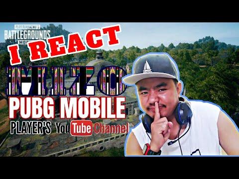 I React Mizo Pubg Mobile Player's YouTube  Channels