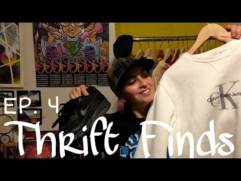 THRIFT FINDS! EP 4 NIKE, VINTAGE A.D.I.D.A.S, ARMANI, TOMMY, POLO AND MORE!