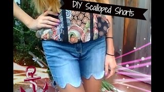 DIY Scalloped Shorts! Thumbnail