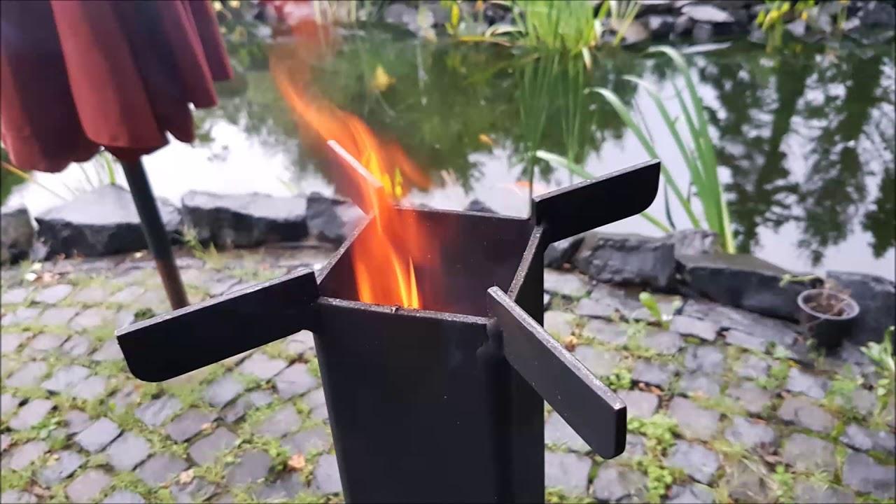 Raketenofen Build 1 0 Youtube