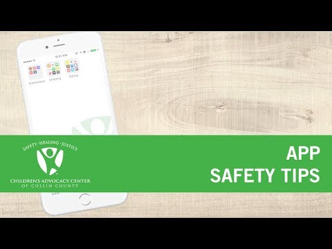 App Safety Tips