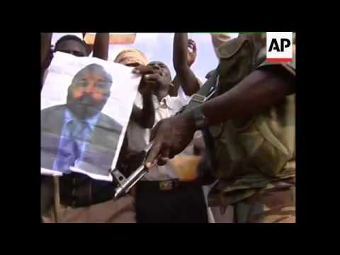 Darfur - Ban Ki-Moon Visits Displaced Persons' Camp