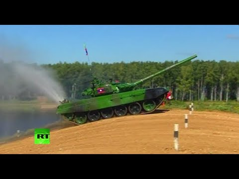 LIVE: Tank biathlon resumes at Army Games 2017 in Russia (Day 3)